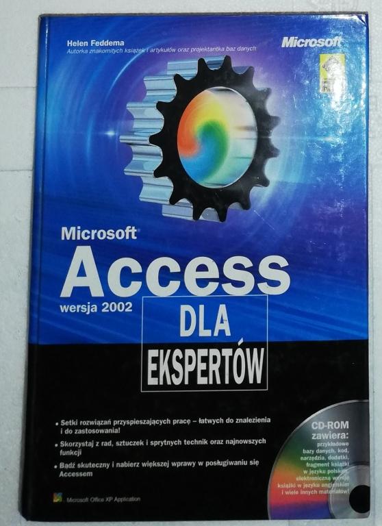 ACCESS DLA EKSPERTÓW wersja 2002