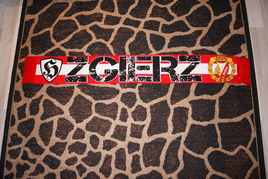 Szalik szal tkany RTS Widzew Łódź fan club Zgierz
