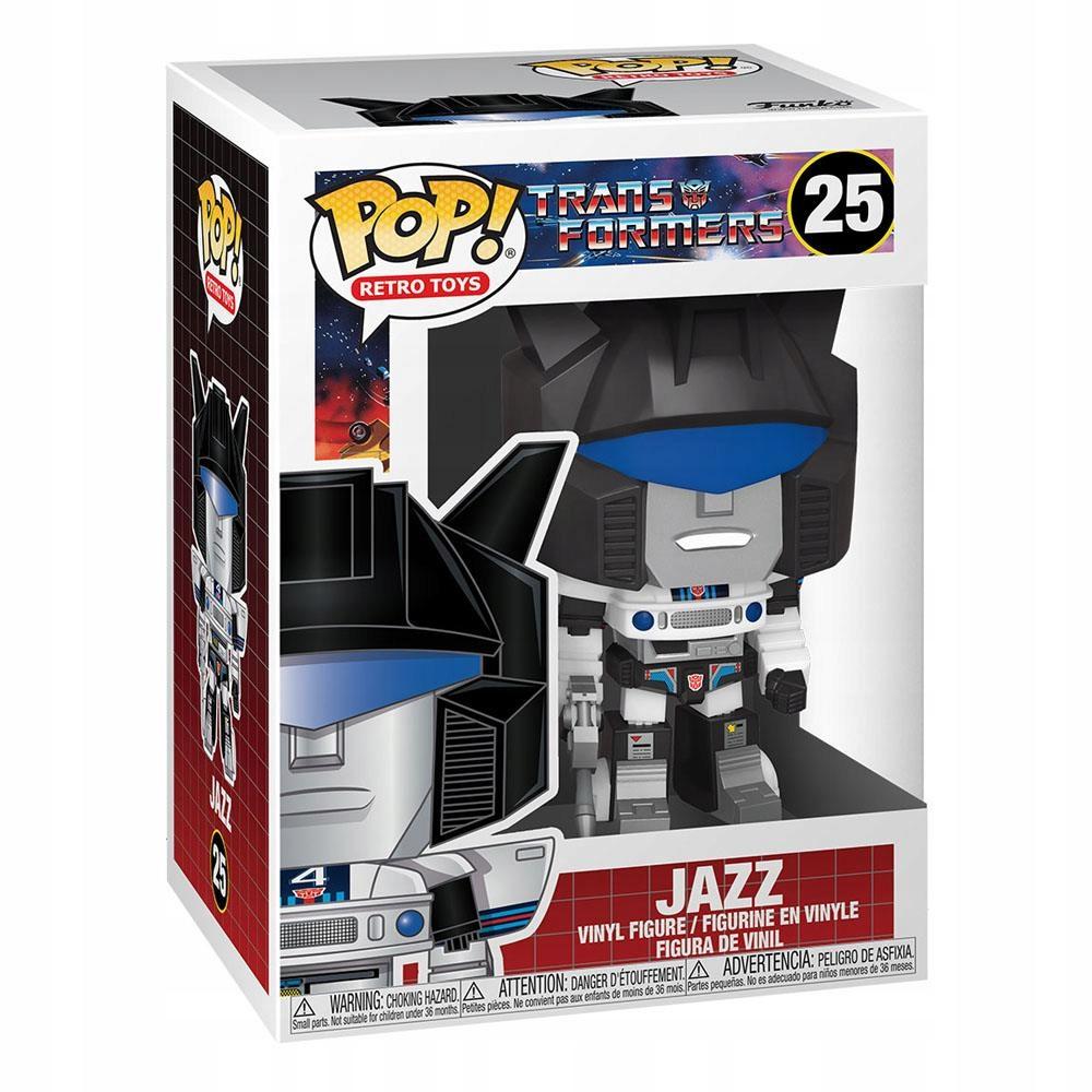 Funko POP Transformers- Defensor Jazz