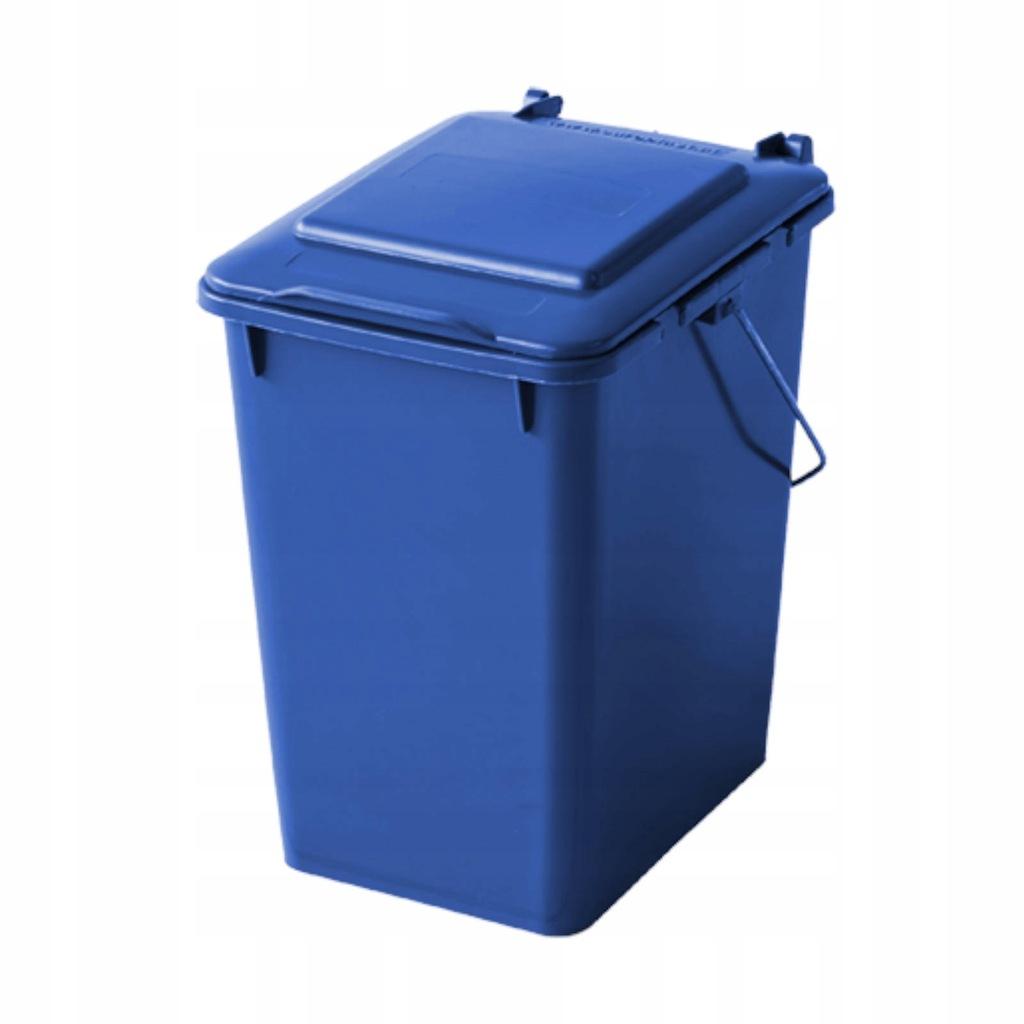 Pojemnik kubeł kosz do sortowania na śmieci 10L