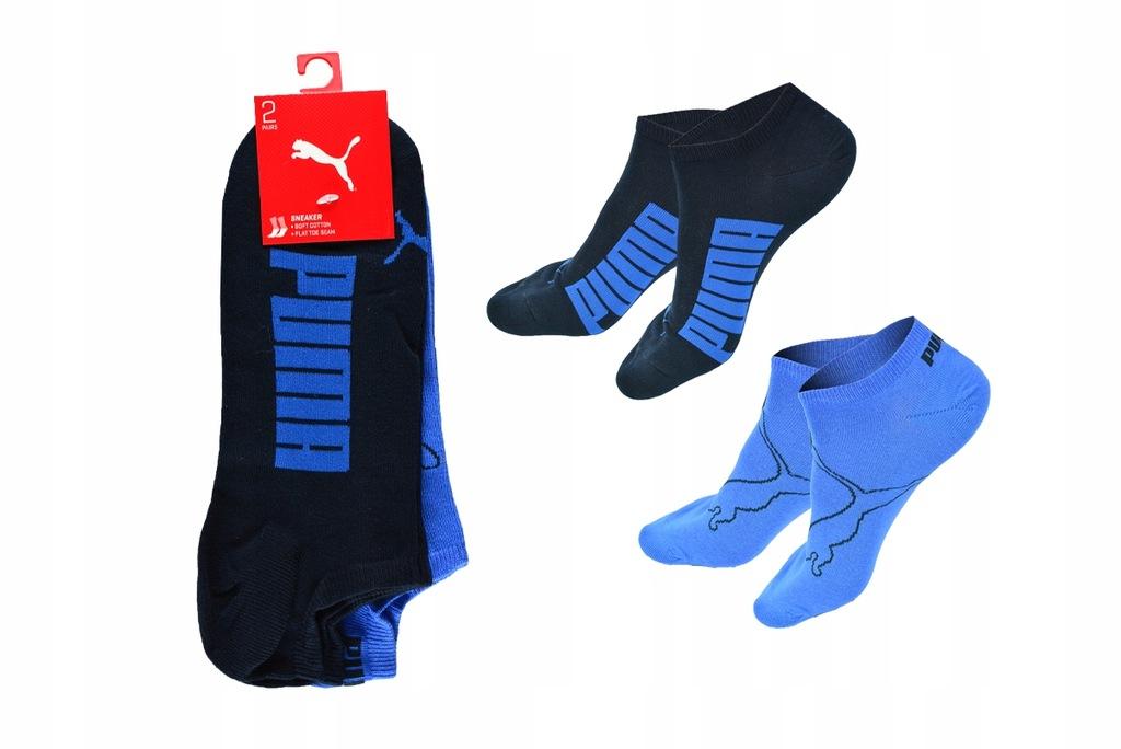 PUMA STOPKI Skarpety Sneaker 2 pary 35-38 SK227