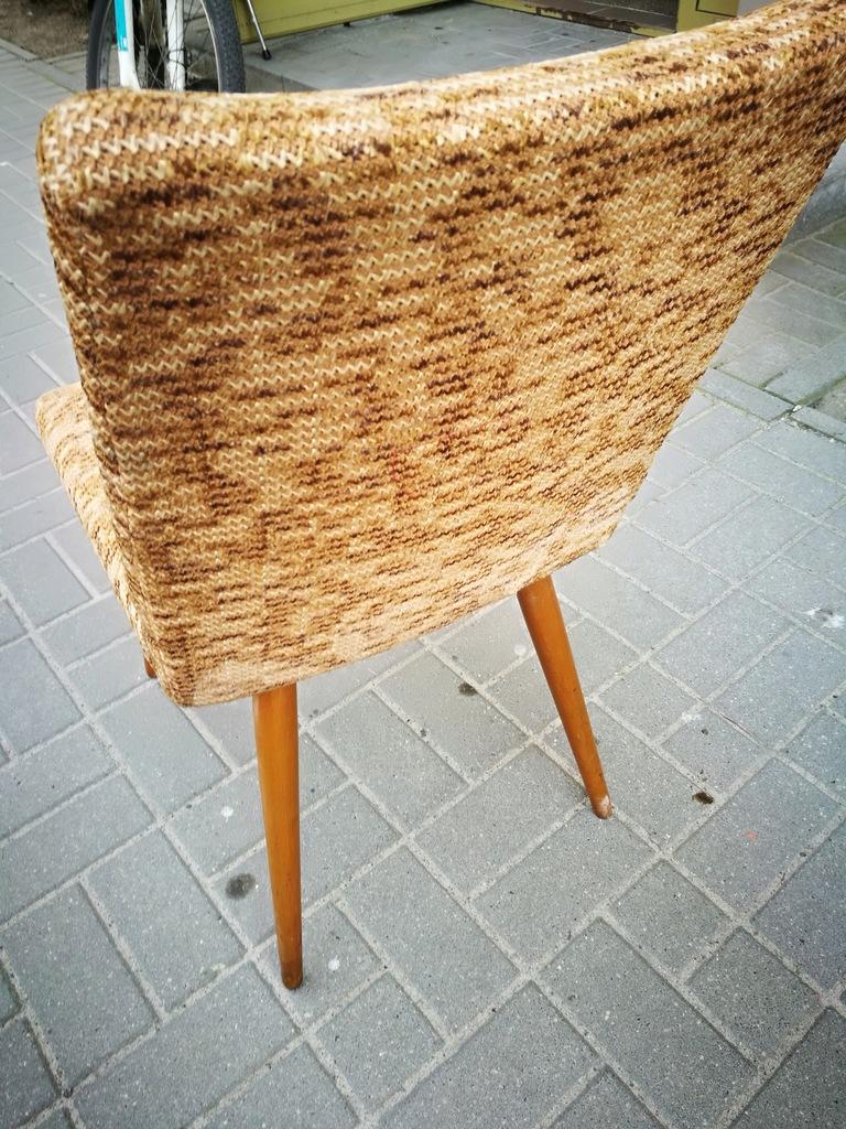 Krzesło patyczak, lata 60 TYP A 6150, New Look