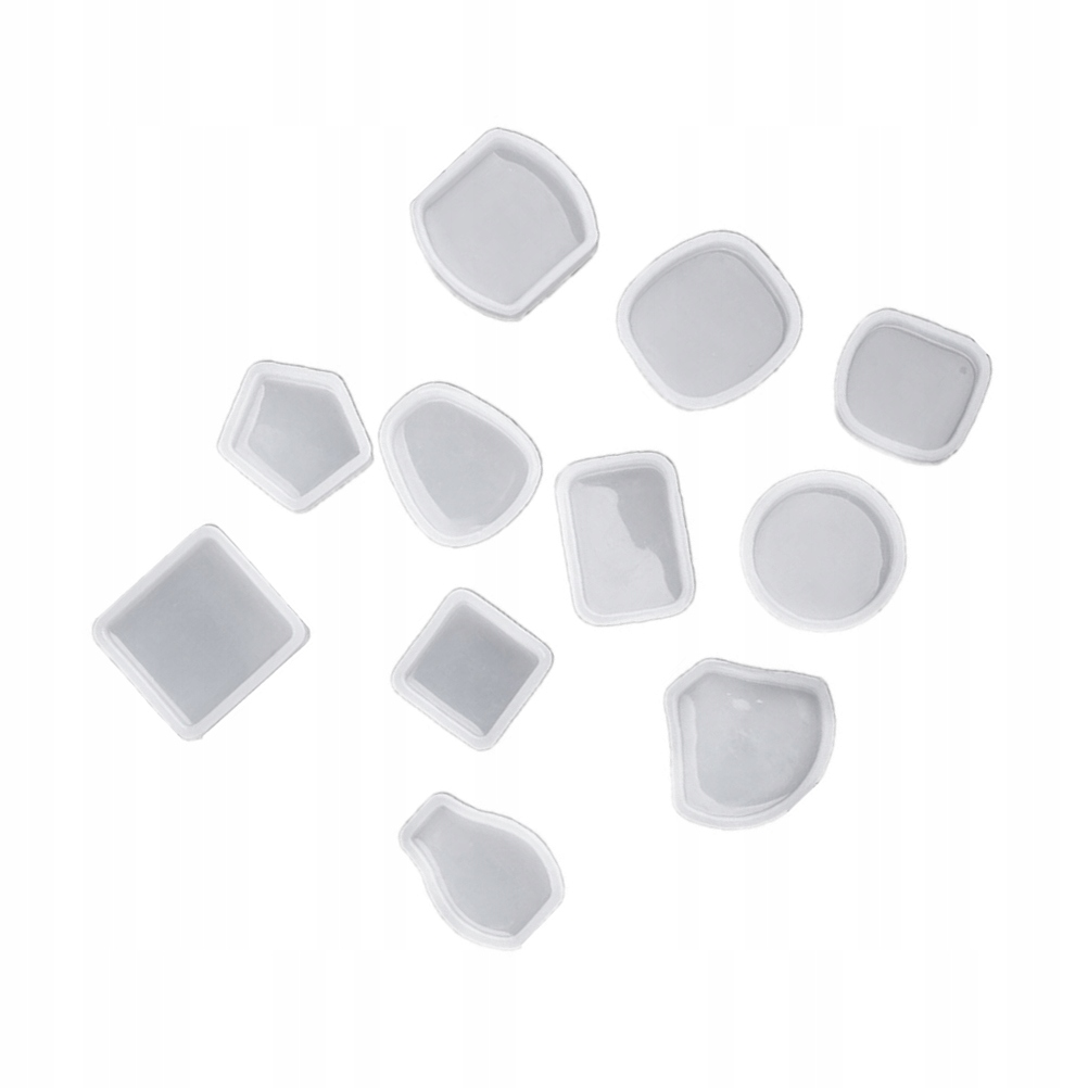 1 Zestaw 11 sztuk Kryształowa silikonowa forma Han