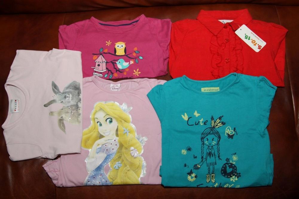 Bluzki, bluzeczki 5-10-15 Lupilu Next Disney r 104