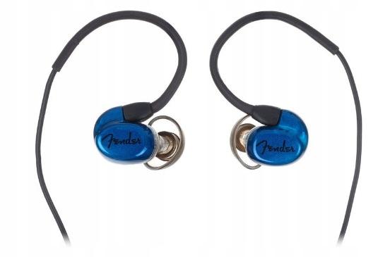 Słuchawki douszne Fender CXA1 Blue In Ear Monitor