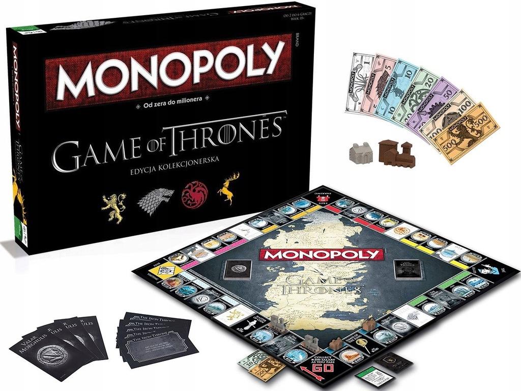Monopol Gra O Tron 8234411773 Oficjalne Archiwum Allegro