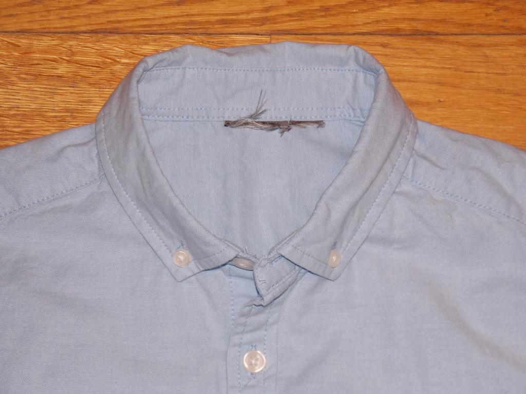 koszula ASOS błękitna klasyczna S