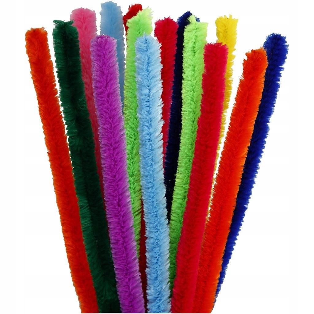 Wyciory Kolorowe 15 mm L: 30 cm 15 szt.