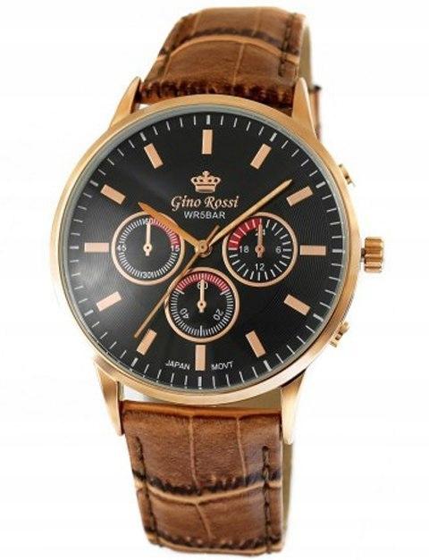 Zegarek Męski Gino Rossi MONTREAL 8185A-1B1