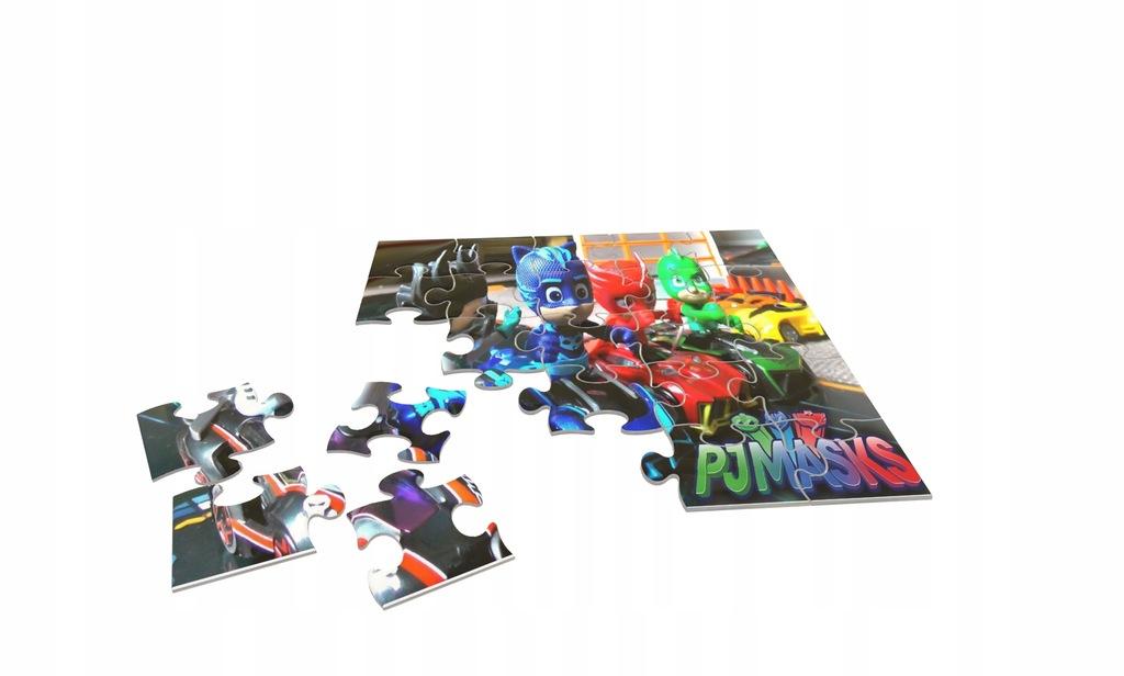 Pidżamersi PJ Masks Puzzle + Gratis