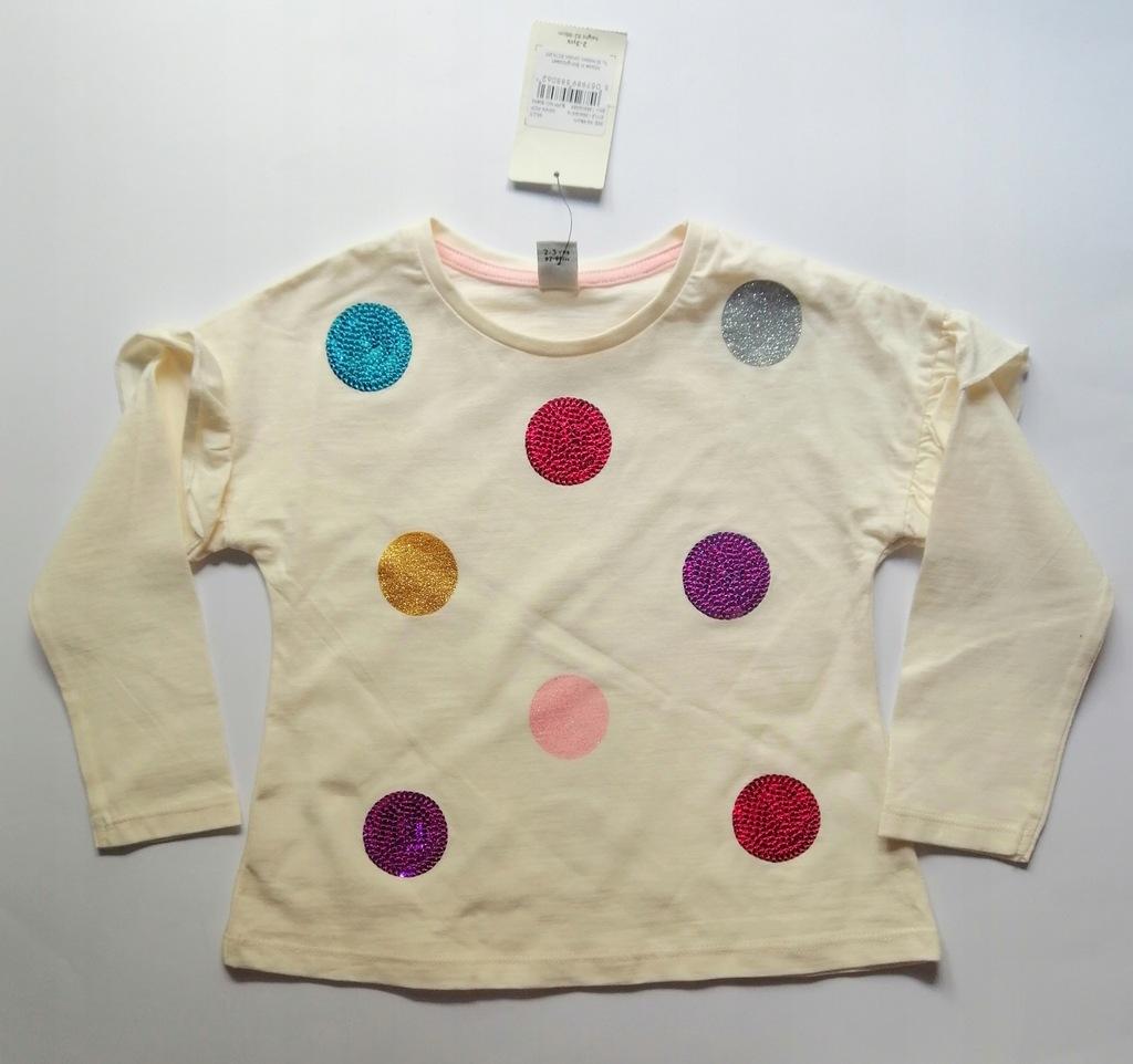 bluzka dziewczęca TU 92-98 cm 2-3 lat bd161