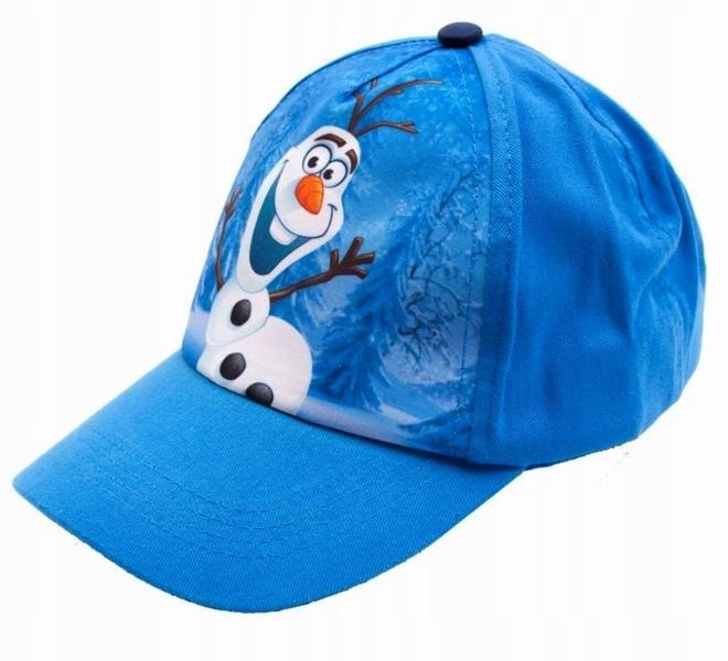 DISNEY FROZEN czapka z daszkiem bejsbolówka 51-53