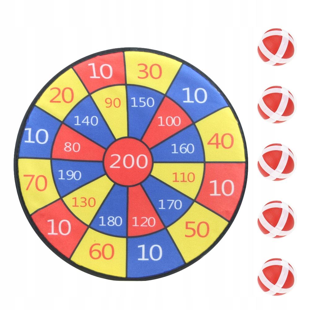 1 zestaw tablica do darta zabawki piłka strzelanie