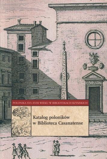 Katalog poloników Biblioteca Casanatense