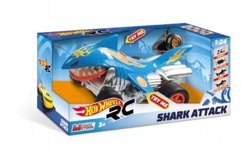 Auto na radio Hot Wheels SHARK ATTACK 63504 MONDO