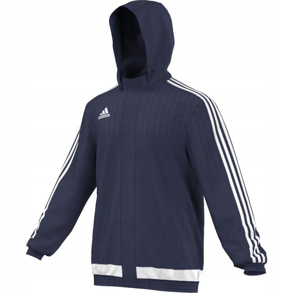 Odzież piłkarska Kurtka przeciwdeszczowa adidas Tiro 15