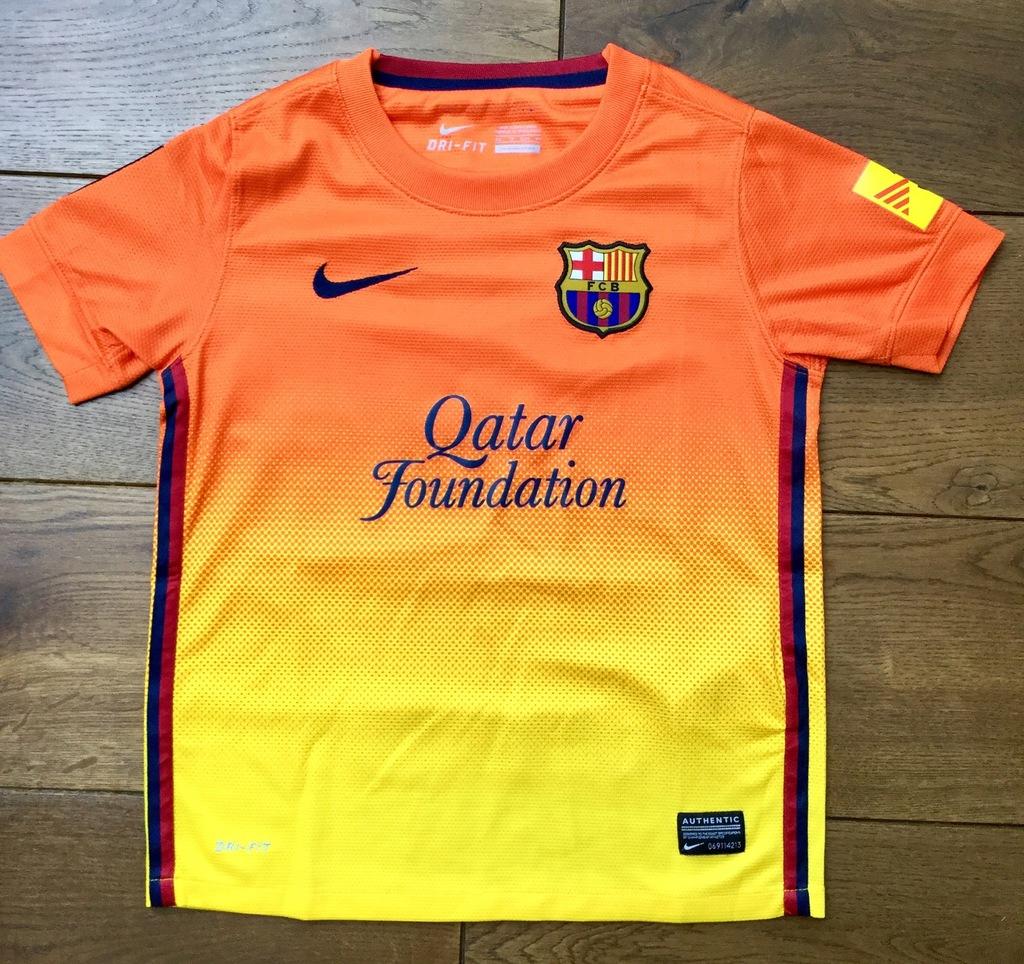 Koszulka piłkarska Nike FC Barcelona roz XS junior