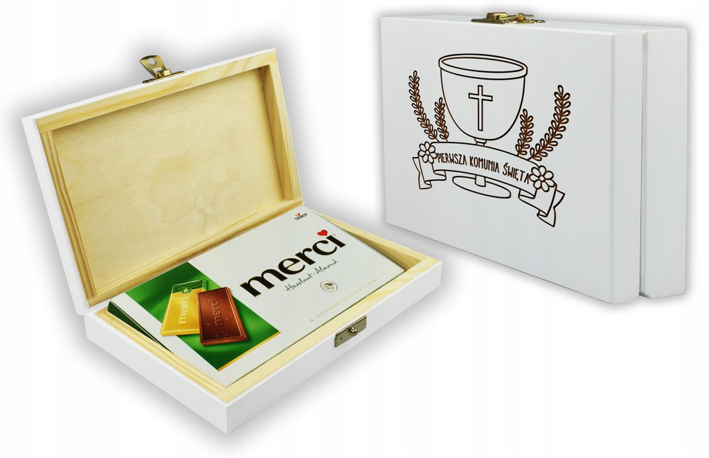 Na Komunie Prezent - Pudełko + Grawer