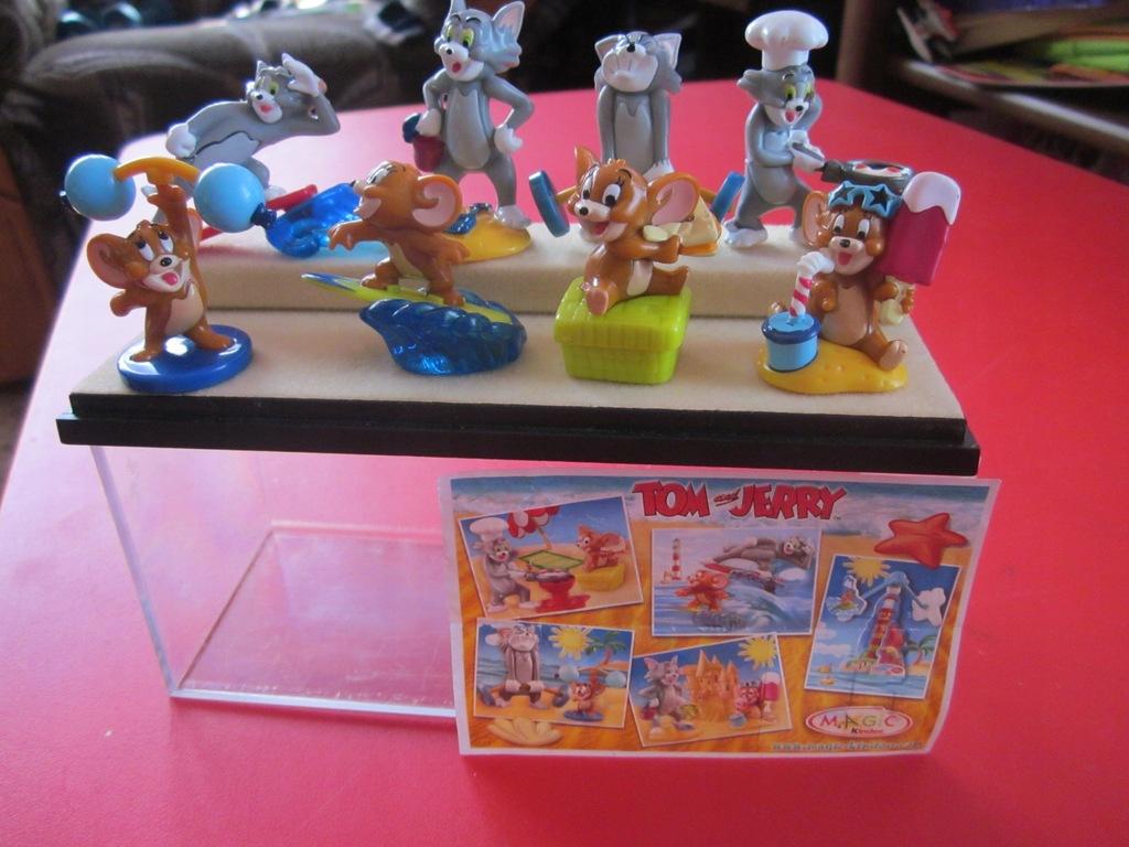 Kinder Tom I Jerry 2003 7841601833 Oficjalne Archiwum Allegro