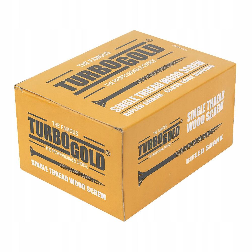 TURBOGOLD WKRĘTY 6,0x180mm 50 sztuk - P17
