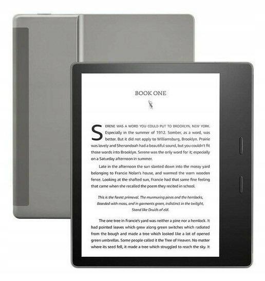 Czytnik E-booków KINDLE Oasis 7 Wi-Fi 8GB reklamy