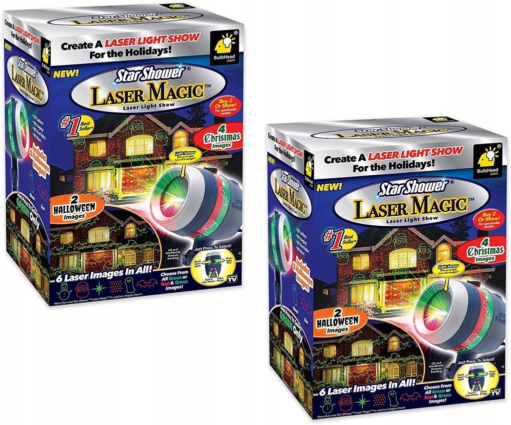 System Swiatla Laserowego Star Shower Laser Magic 8650108616 Oficjalne Archiwum Allegro