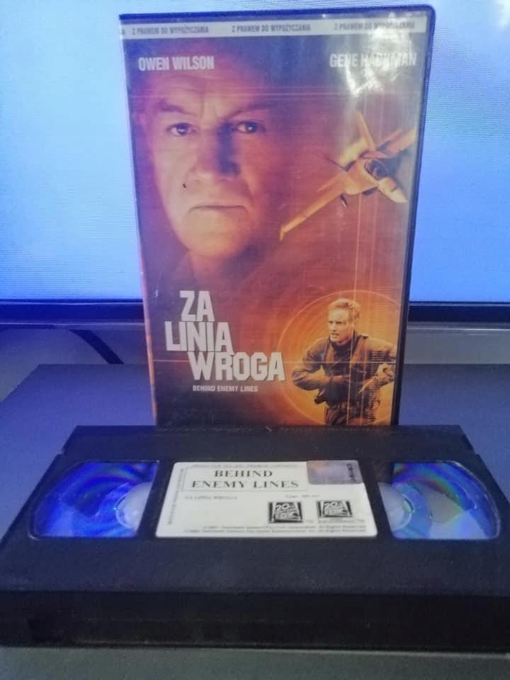 Za linią wroga - VHS