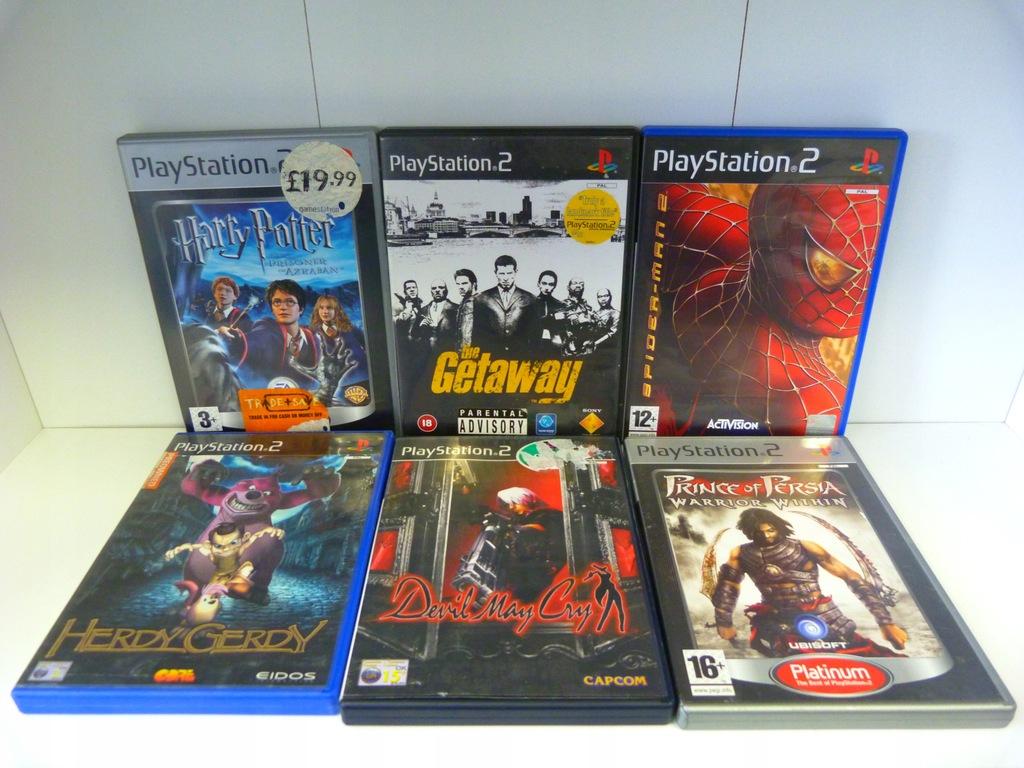 Zestaw 6 Gier Ps2 Gry Playstation 2 Kolekcja Mix 8555145119 Oficjalne Archiwum Allegro