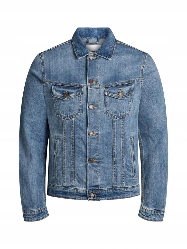 JACK&JONES męska kurtka jeansowa klasyczna S