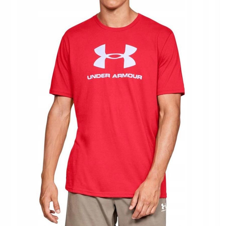 Koszulka UA Sportstyle Logo SS czerwony S!