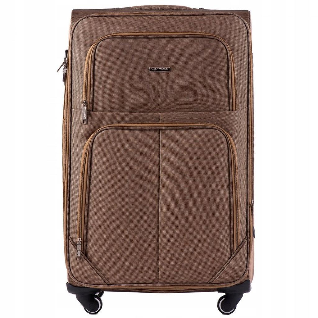 214 (4), Duża walizka podróżna Wings 4 koła L, Yel
