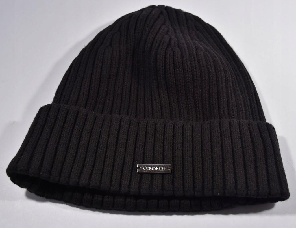 Ak21* Calvin Klein czapka na zimę