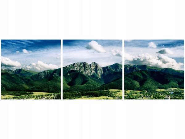 Krajobraz tatrzański 150x50cm