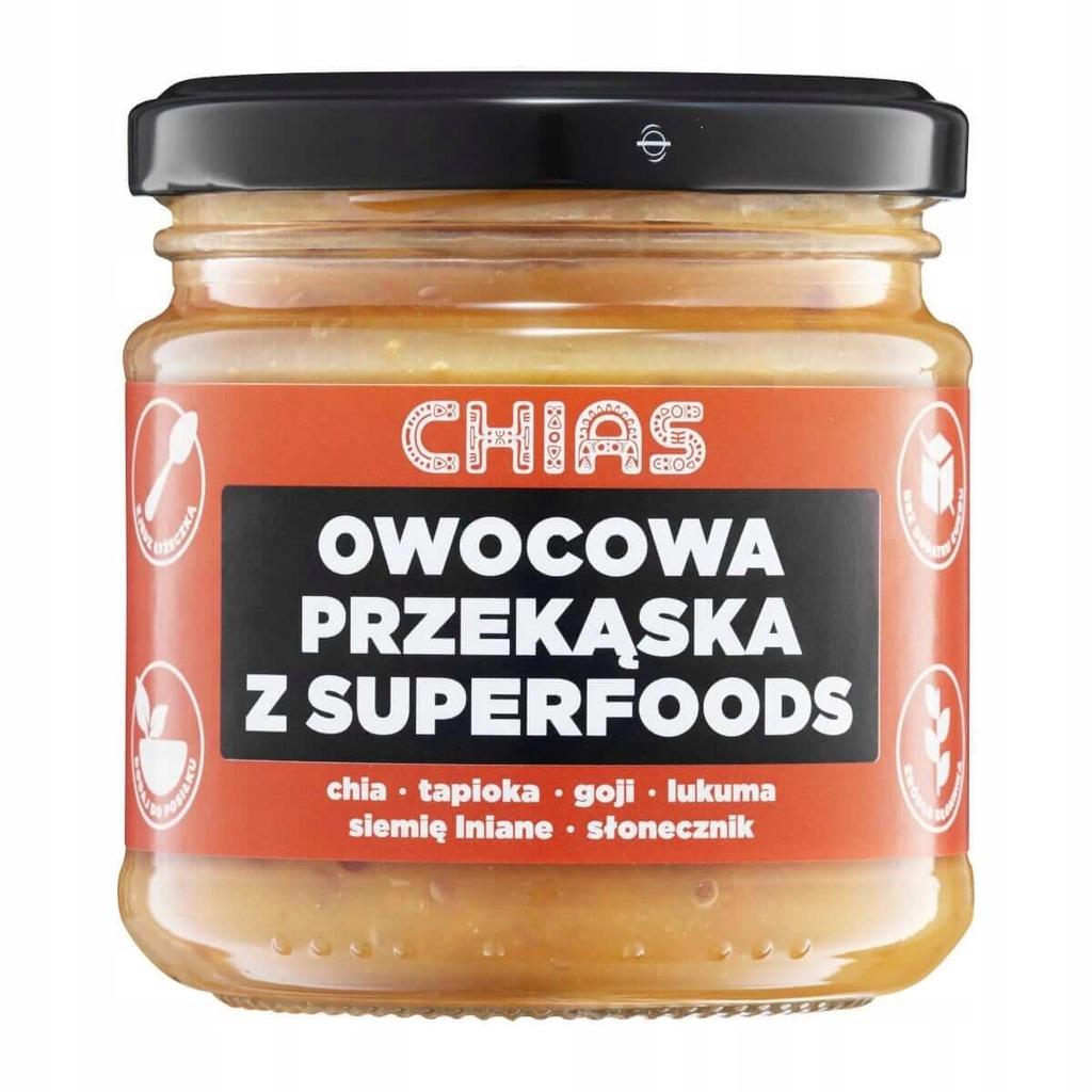 Chias Superfood Bowl Owoce Egzotyczne - 180g