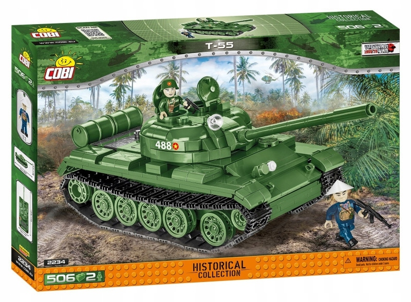 Cobi Klocki Klocki HC Vietnam War T-55 506