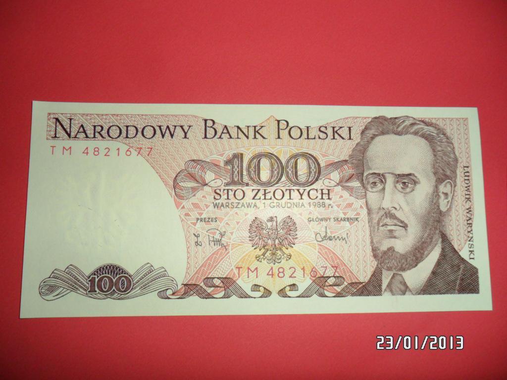 100zł z PRL-u w Bankowym stanie dla WOŚP