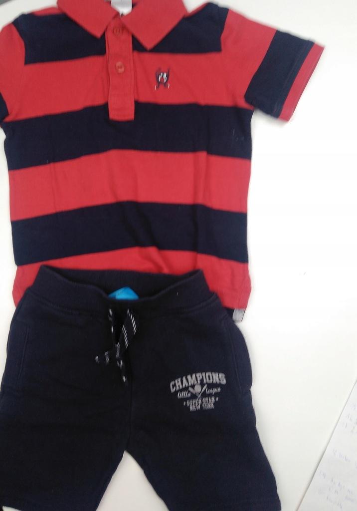 ZESTAW C&A 104 Spodnie dresowe i Polo