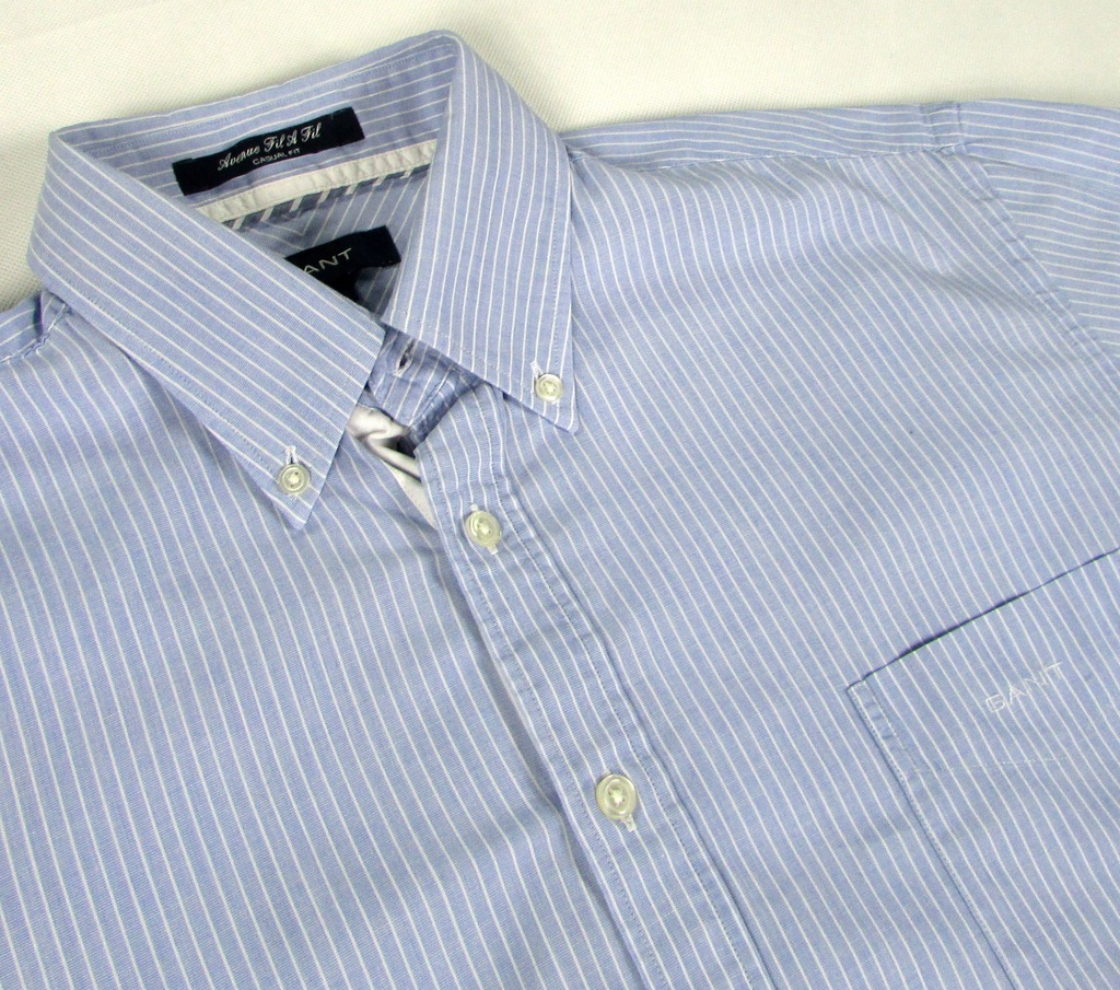 * GANT *_L Casual Fit_Modna, super koszula w paski