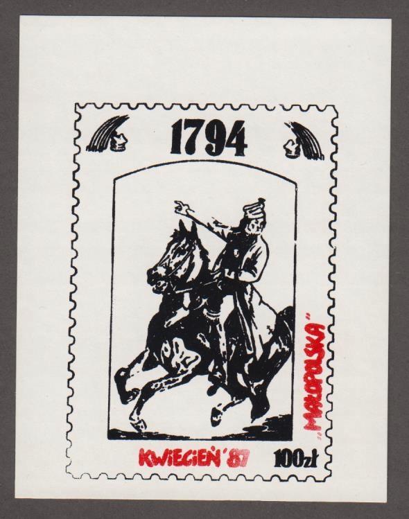 SOLIDARNOŚĆ - RZADKI WALOR - MAŁOPOLSKA '87