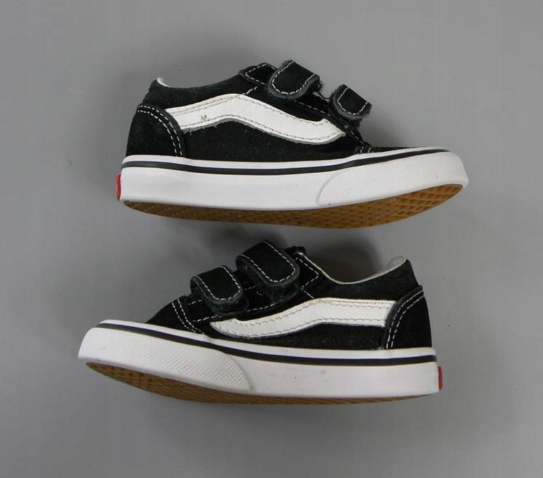 VANS OFF THE WALL OLD SKOOL skórzane buty 21,5