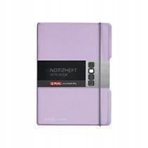 Notatnik A5/40K kratka My.BookF pastel. lilia