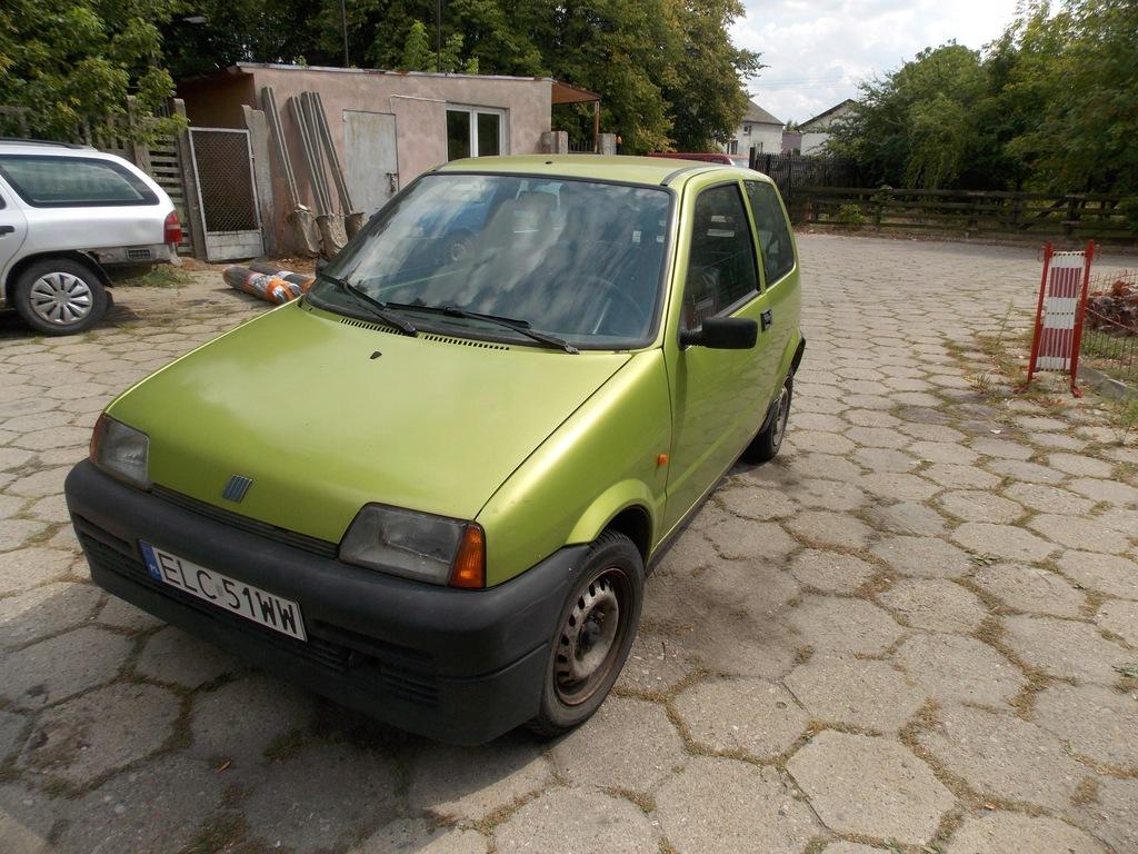 FIAT CINQUECENTO CC 1997R. 700 ŁADNY ZADBANY TANIO