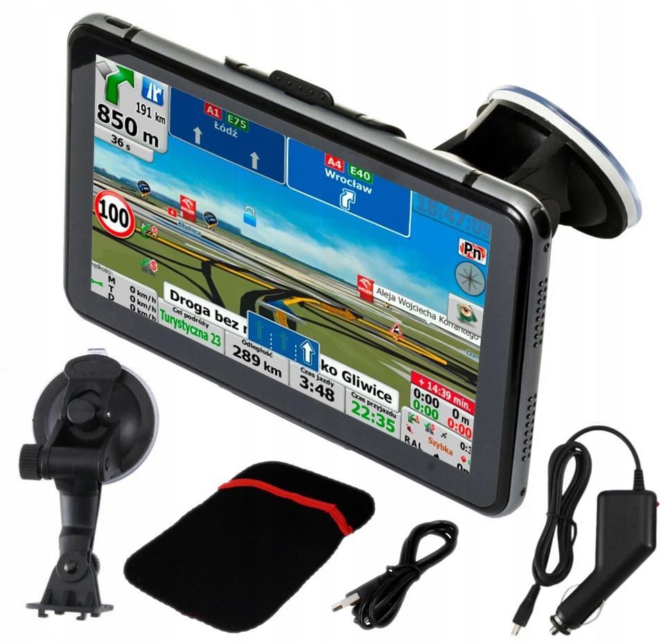 GPS Nawigacja Ciężarówka iGO Primo 8GB 256MB T05Z