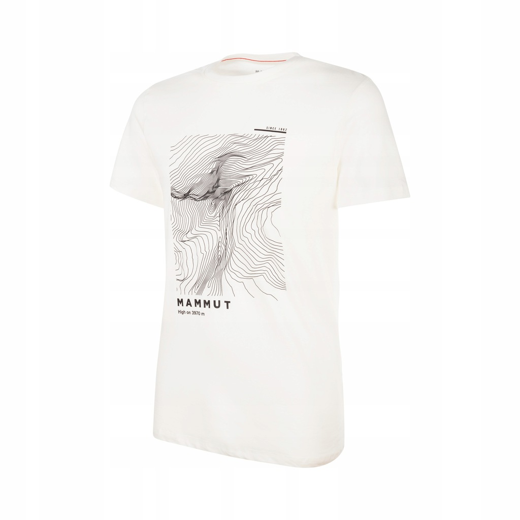 Koszulka Mammut Massone T-Shirt Men Bright White (