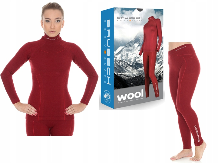 BIELIZNA NA NARTY Brubeck EXTREME Wool Komplet S