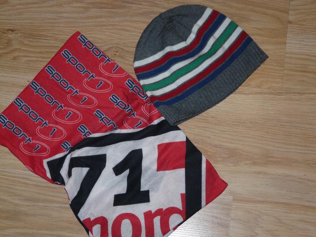 czapka 5,10,15 komin