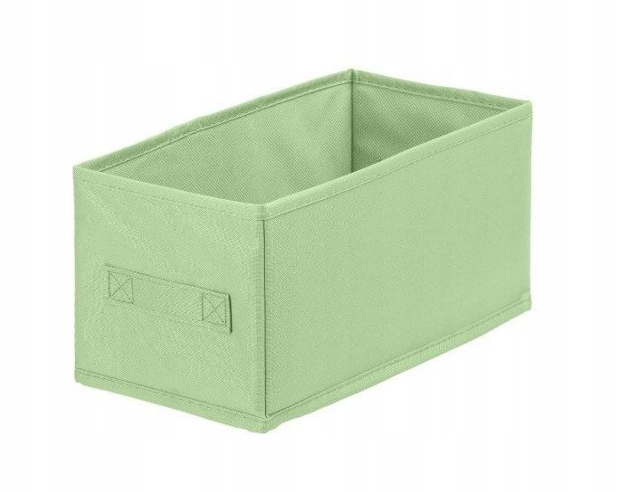 Pudełko tekstylne ANABEL 15x31x15cm zielony 7l sza