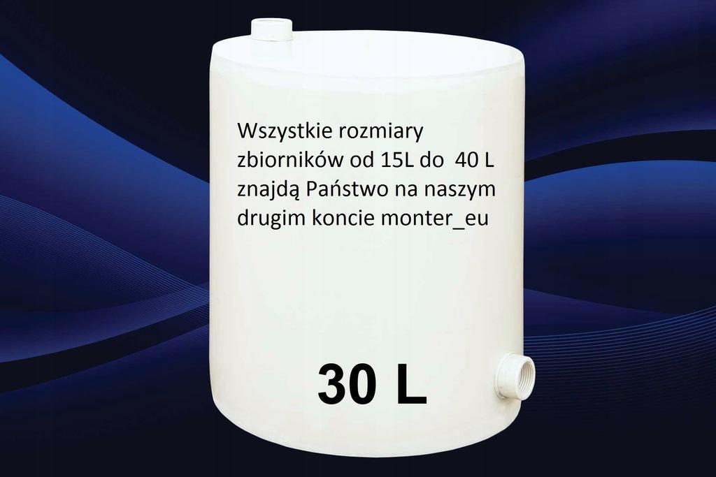 Naczynie Zbiornik Wyrownawcze Plastik Pp 30l 7071558759 Oficjalne Archiwum Allegro