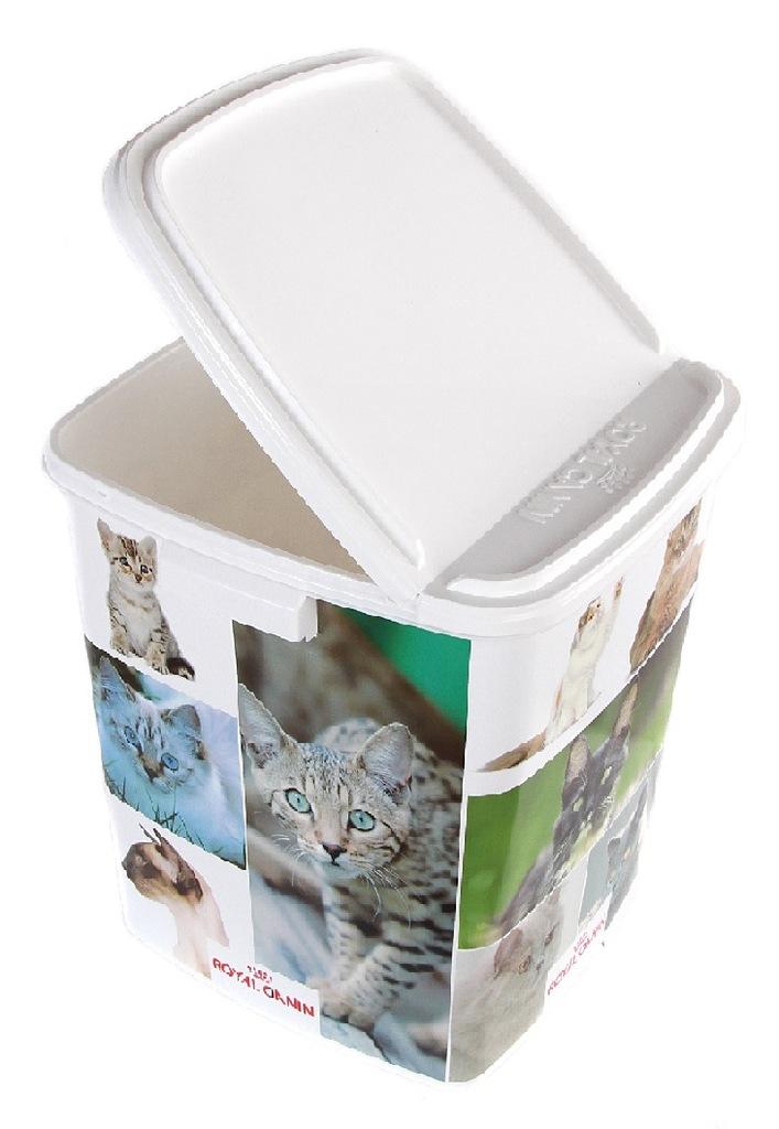 Pojemnik wiadro na karmę dla KOTA Royal Canin 42l