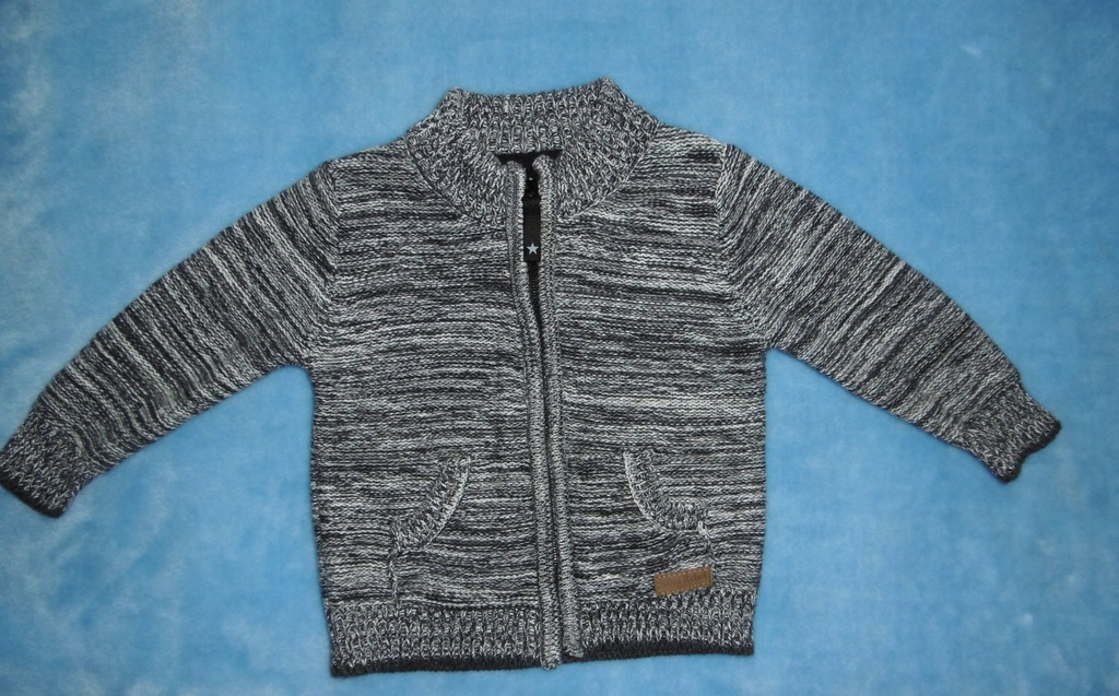 Sweter chłopiec roz 80 cm( 9-12 m-cy )